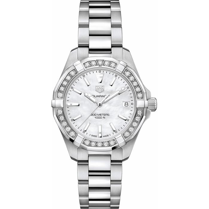 [추가비용없음] 태그호이어 TAG Heuer WBD1313.BA0740 Aquaracer Diamonds Save 여성