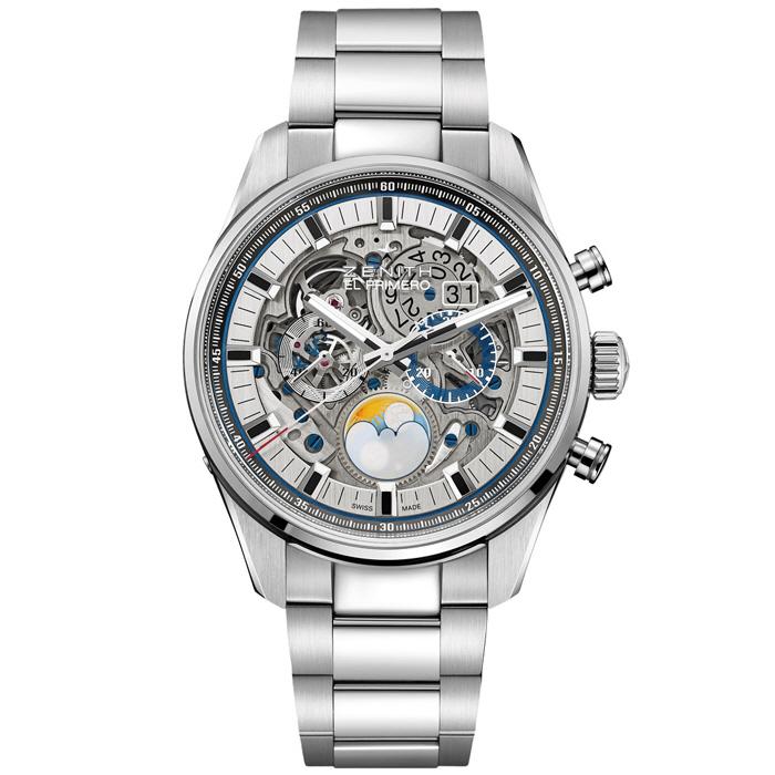 [추가비용없음] Zenith 03.2530.4047/78.M2530 Chronomaster El Primero Grande Date Full Open 45mm