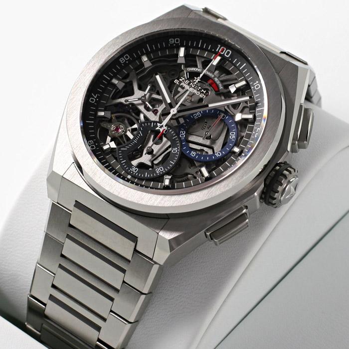 [추가비용없음] 제니스 ZENITH 95.9000.9004/78.M9000 Defy El Primero 21 titanium watch