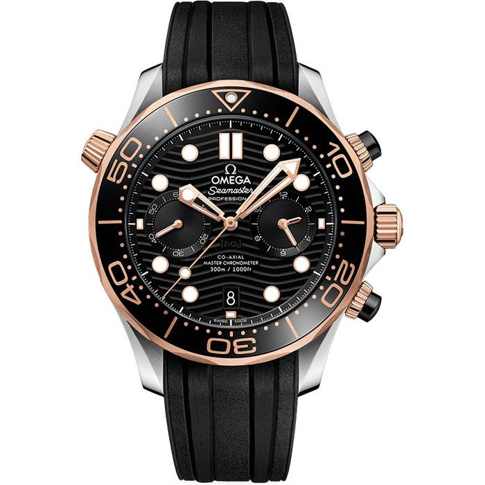 [추가비용없음] 오메가 OMEGA 210.22.44.51.01.001 Seamaster Diver 300 Co-Axial Master Chronometer Chronograph